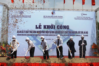 Hơn 612 tỷ đồng xây nhà máy 'biến rác thành điện' đầu tiên tại Việt Nam